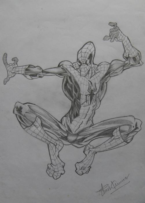 Spider-Man by AkashRanjan